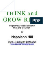 1 Think and Grow Rich Chapter 01 Workbook