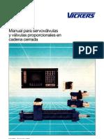 Servovalvulas y Valvulas Proporcionales en Cadena Cerrada-Ma.pdf VICKERS