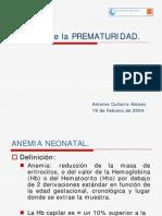 Anemia de La Prematuridad PDF