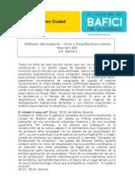 Odiseas Del Espacio, Cine y Arquitectura Nueva Seccion Del 14 BAFICI - Gacetilla de Prensa (1)