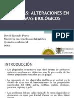 PESTICIDAS ALTERACIONES EN LOS SISTEMAS BIOLÓGICOS