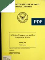 Design Management & job assignment