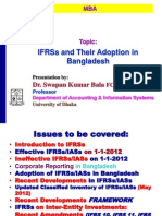 IFRSs and Their Adoption in BangladeshIFRSs and Their Adoption in Bangladesh.ppt