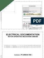 Manual Operating Mechanism CMM 400