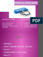ppt on online national polling