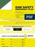 Dam Safety Emergency Plan