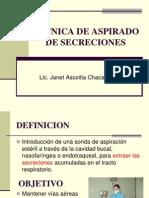 tcnicadeaspiradodesecreciones-090403221456-phpapp02