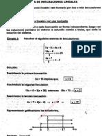 Sistema de Inecuaciones Lineales p