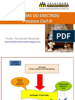 Slides - Defesas Do Executado - Profa Fernanda Resende