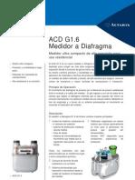 Actaris Medidor Acd g16