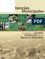 Competencias Ambientales Municipales Vinculadas a La Gestion Ambiental