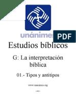 Tipos y Antitipos- EB Unanimes