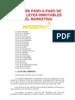 Analisis Paso a Paso de Las 22 Leyes Inmutables Del Marketing