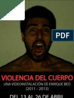 VIOLENCIA DEL CUERPO (Catálogo)