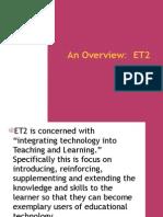 Educational Technology 2 (MSC 2-05)