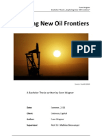 Exploring New Oil Frontiers