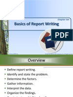 Lesikar - Report Writing Basics