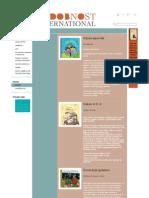Sodobnost International - Spominčice, Bilingual Book Series for Children, 2006-2012, October 2012.