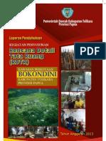 Rencana Detail Tata Ruang Kawasan Perkotaan Bokondini Tolikara Papua 2032