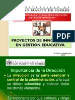 Proyecto de Innovacion en Getion Educativa