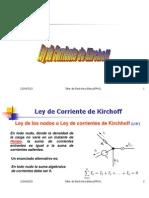 Ley de Corriente de Kirchoff