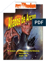 "Perry Rhodan - 1º Ciclo ""A Terceira Potência"" - Volume IX - Aliados de Árcon. P- 41-45."