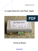 Aj SigGen PS Tech Manual Final
