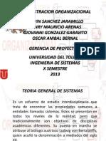 ADMINISTRACION ORGANIZACIONAL_EXPOSICION