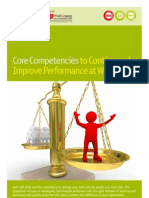 EDUCO100901C-Core Competencies to Continuously Improve Performance at Work