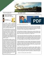 RCBKS Bulletin Vol 21 No 35