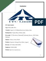 Itc Ltd Ajyplassignmnt
