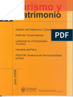 GESTIÓN DEL PATRIMONIO CULTURAL y CENTROS HISTÓRICOS