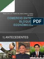 COMERCIO ENTRE BLOQUES ECONÓMICOS CHINA