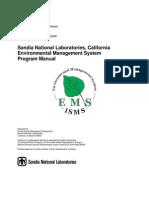Ems Program Manual