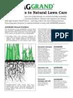 AGGRAND® Natural Lawn Care