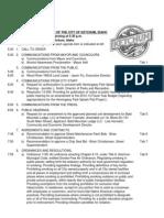 Ketchum City Council Agenda April 15, 2013