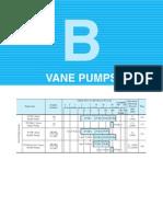 B Vane Pumps