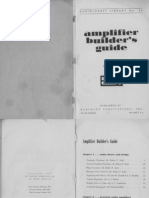 RadioCraft Library Tube Amplifier Design