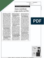 Da Fabrizio un buon contributo ma serve più Europa anche nel Pd