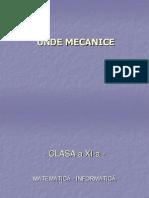 Unde Mecanice
