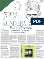 Milan Kundera Su Il Processo Di Kafka - La Repubblica 13.04.2013