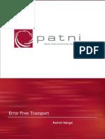 Error Free Transport