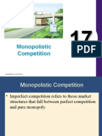 17.Monopolistic Competition
