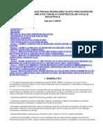 C 205-1981 Instrucţiuni tehnice privind încercarea în situ prin încercări statice conform stas 1336-80 a construcţiilor civile şi industriale