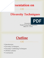 Presentation on diversity technique