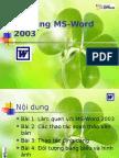 Bai Giang M Bai Giang MS Word 2003 CAO MINH DUC