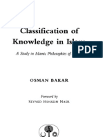 Osman Bakar Classification of Knowledge in Islam