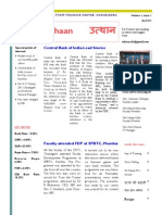ZSTC, Chandigarh Monthly Nrewsletter - Uthaan April 2013