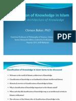 O-Bakar_classification of Knowledge in Islam