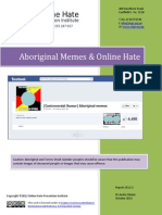 Aboriginal Memes and Online Hate